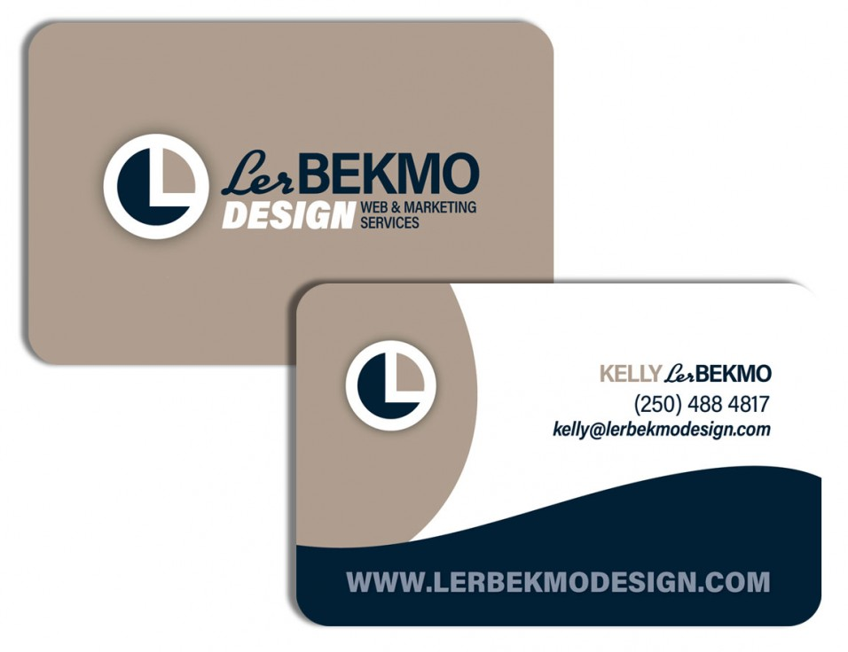 Lerbekmo Design Business Card