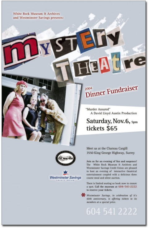 Dinner Theatre Poster